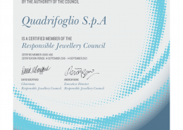 certificazione RJC Responsible Jewellery Council