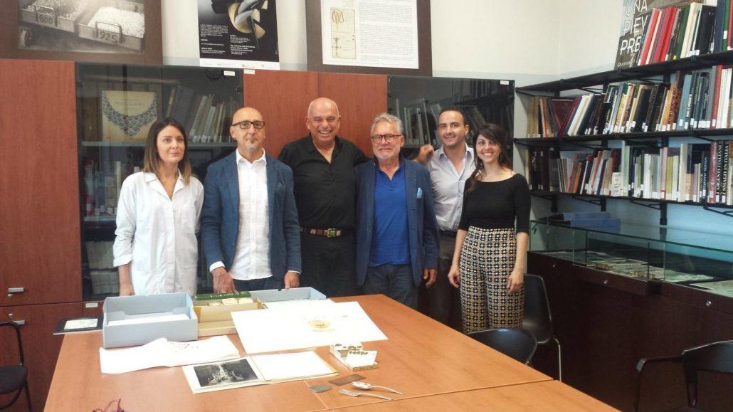 restauro archivio bulgari